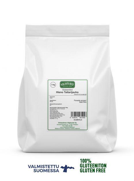 Farine fine de sarrasin sans gluten, 3 kg