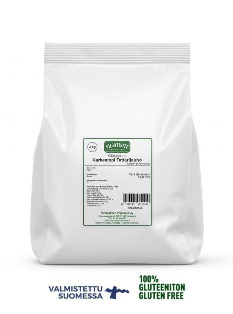 Farine grossière de sarrasin sans gluten, 3 kg