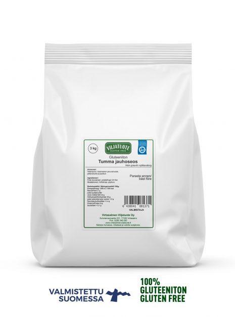 Mix de farine foncée sans gluten 3 kg