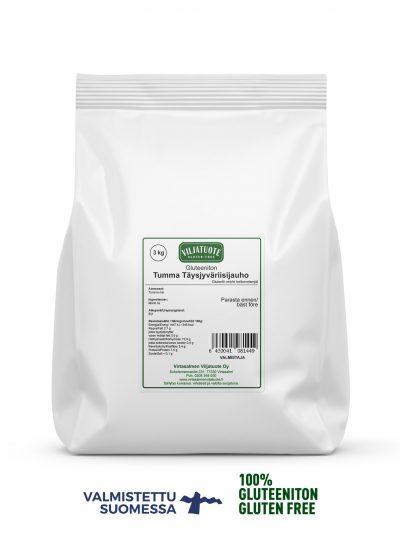 Farine de riz complet sans gluten, 3 kg