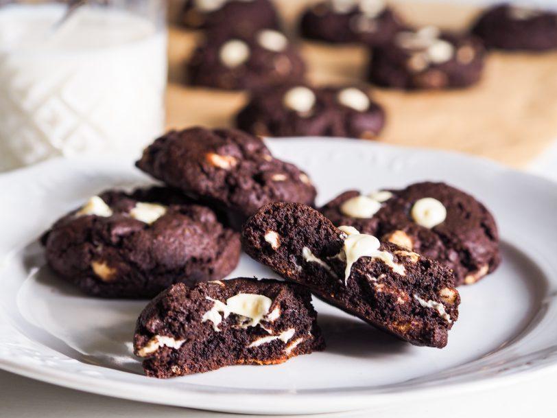 Cookies double chocolat sans gluten