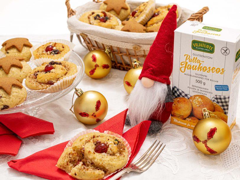 Gluteenittomat joulupullat