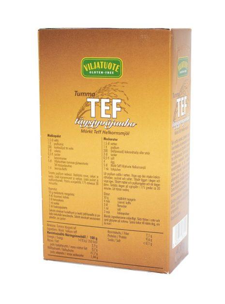 Virtasalmen Viljatuote Gluteeniton Tef-jauho 2