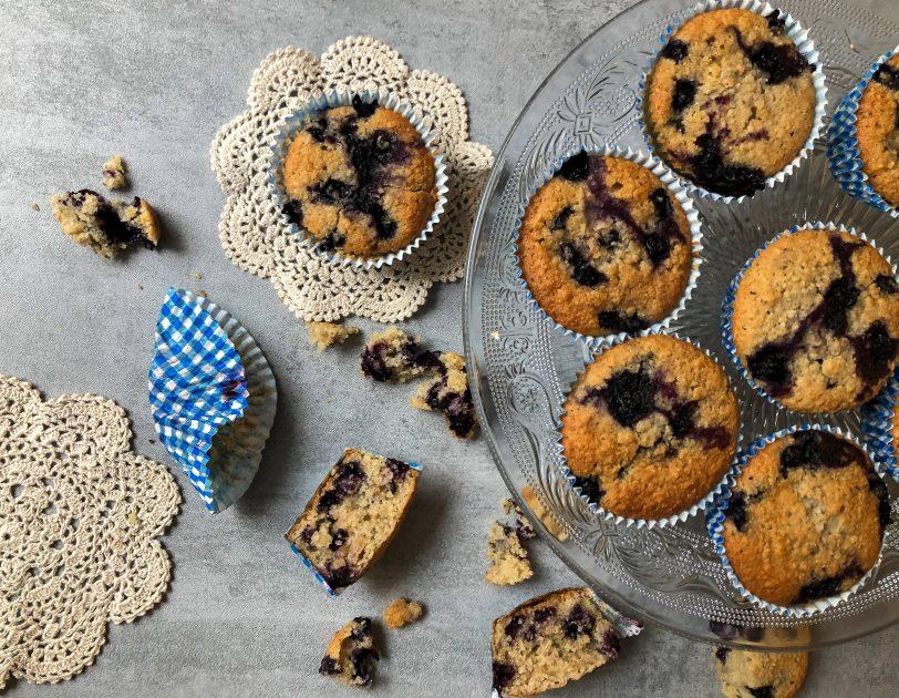 Gluteenittomat mustikkamuffinssit
