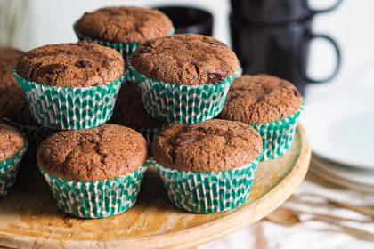 Gluteenittomat Suklaamuffinssit (riisijauho)