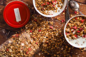 Gluteeniton granola
