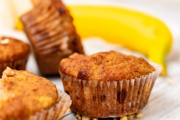 Gluteenittomat banaanimuffinssit