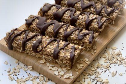 Gluteenittomat suklaa-tahinipatukat