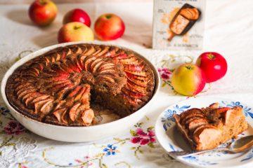 Gluteeniton omenapiirakka (porkkanajauhoseos)