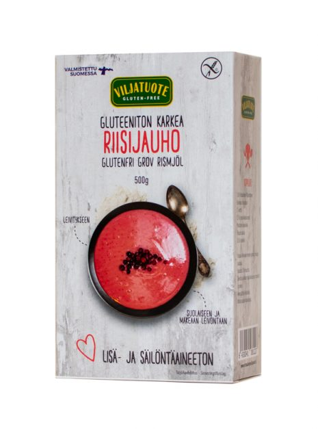 Virtasalmen viljatuote gluteeniton karkea riisijauho_neliö