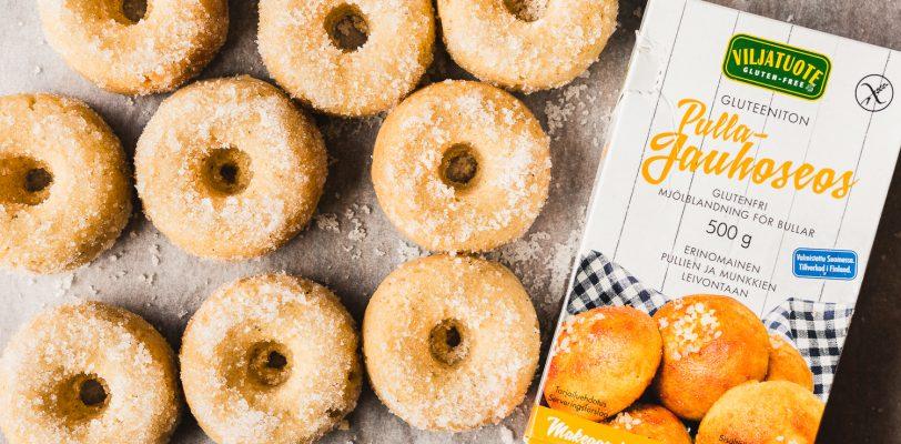 Gluteenittomat vegaaniset donitsit