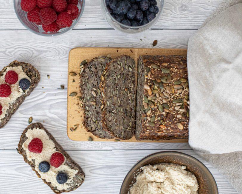 Gluteeniton superleipä ja manteliricotta