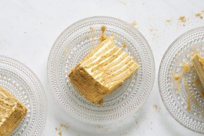 Gluteeniton hunajakakku