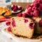 Gluteeniton ja vegaaninen vadelmakakku